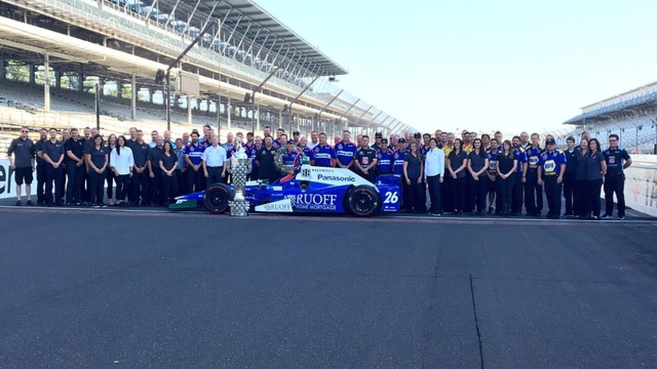 Takuma Sato wins the 101st Indianapolis 500