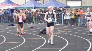 Billings West girls relay