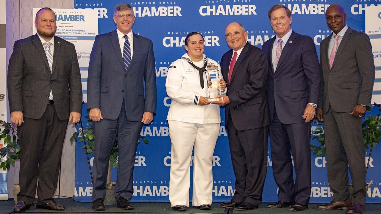 Local Sailor honored as Military Citizen of the Year