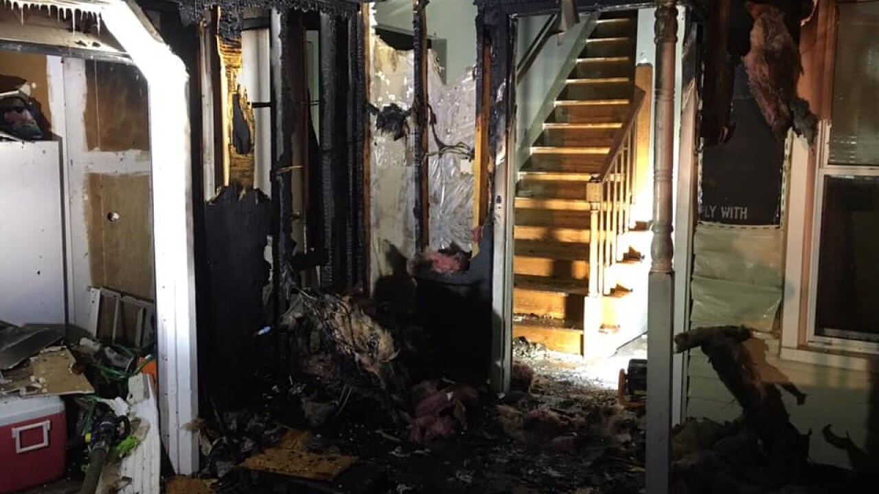 House fire in Chesapeake displaces family ofseven