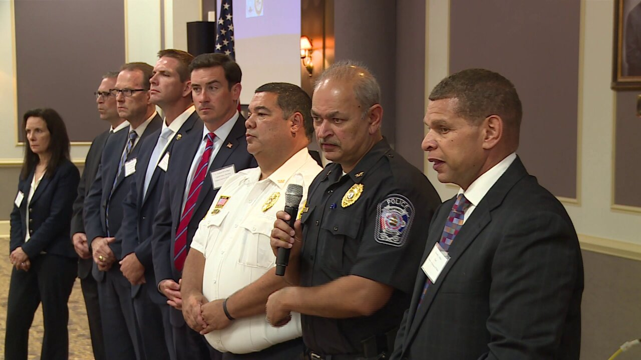 Law enforcement officials gather at summit to reduce violent crime inTri-Cities