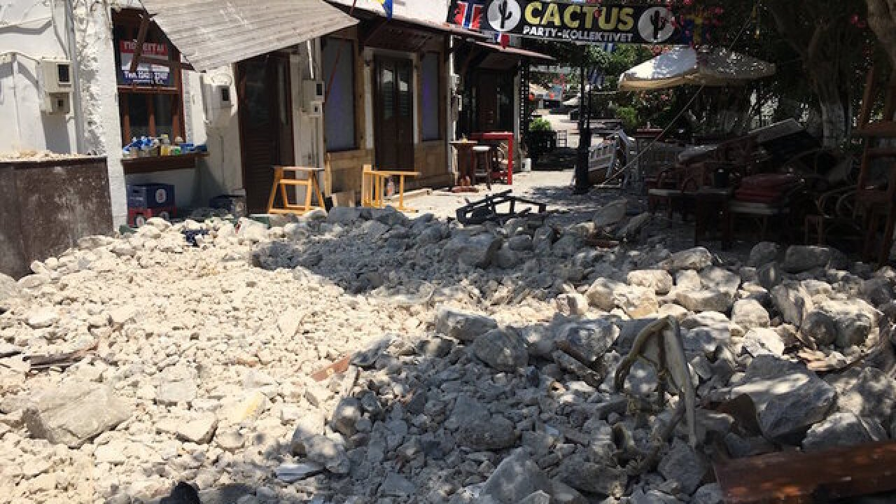 Earthquake off Greek and Turkish coasts kills 2 tourists