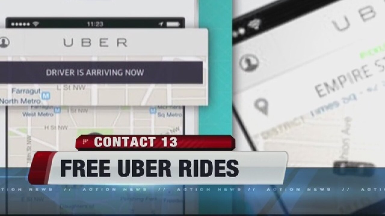Uber offering free rides to LGBT community this weekend