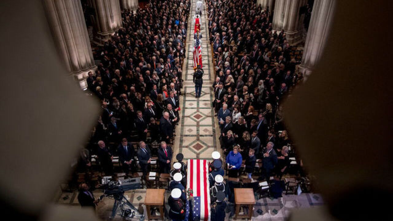 7 poignant quotes from George H.W. Bush's state funeral