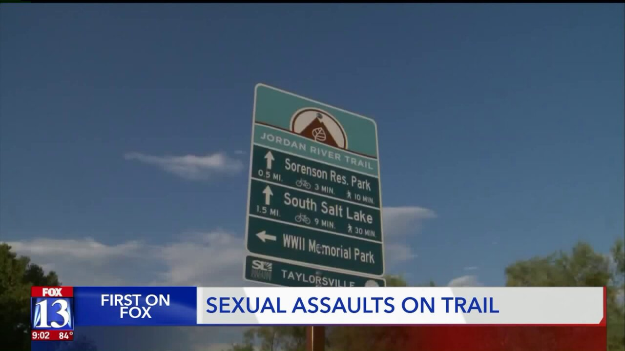 Unified Police warn of multiple sexual assaults along stretch of Jordan River Parkway