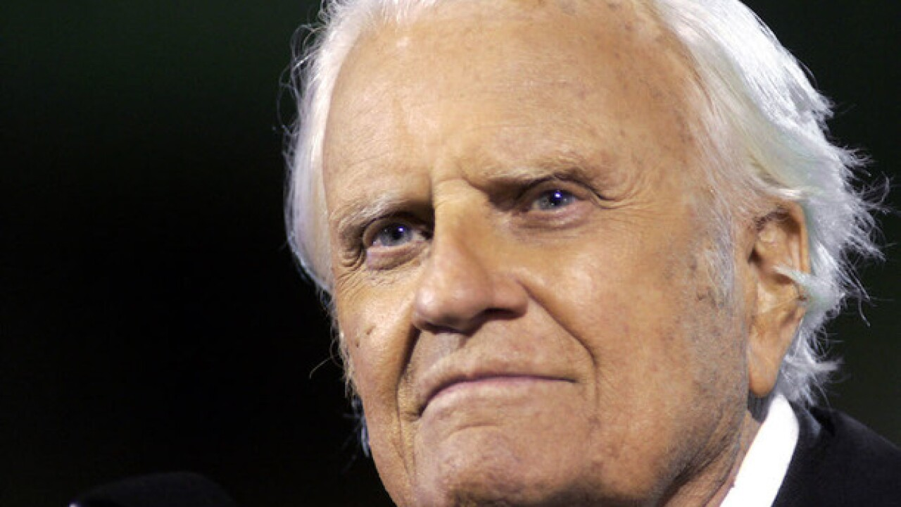 Rev. Billy Graham's body to lie in honor at US Capitol