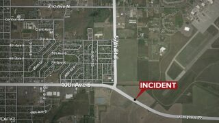 Emergency crews respond to report of pedestrian hit by vehicle