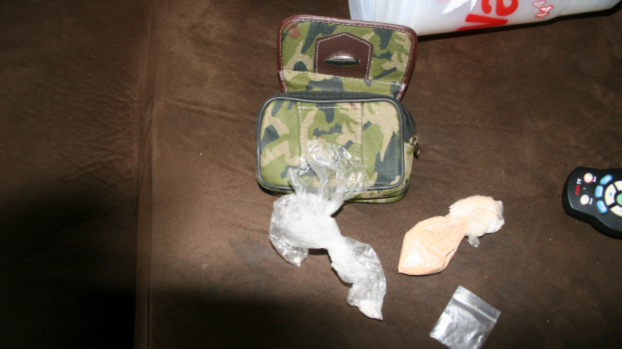 Heroin confiscated