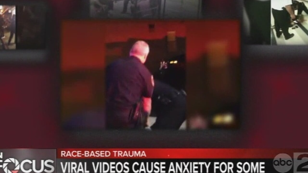 'Race-based trauma' studied as link to videos