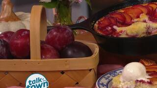 Lynne Tolley's Plum Skillet Cake