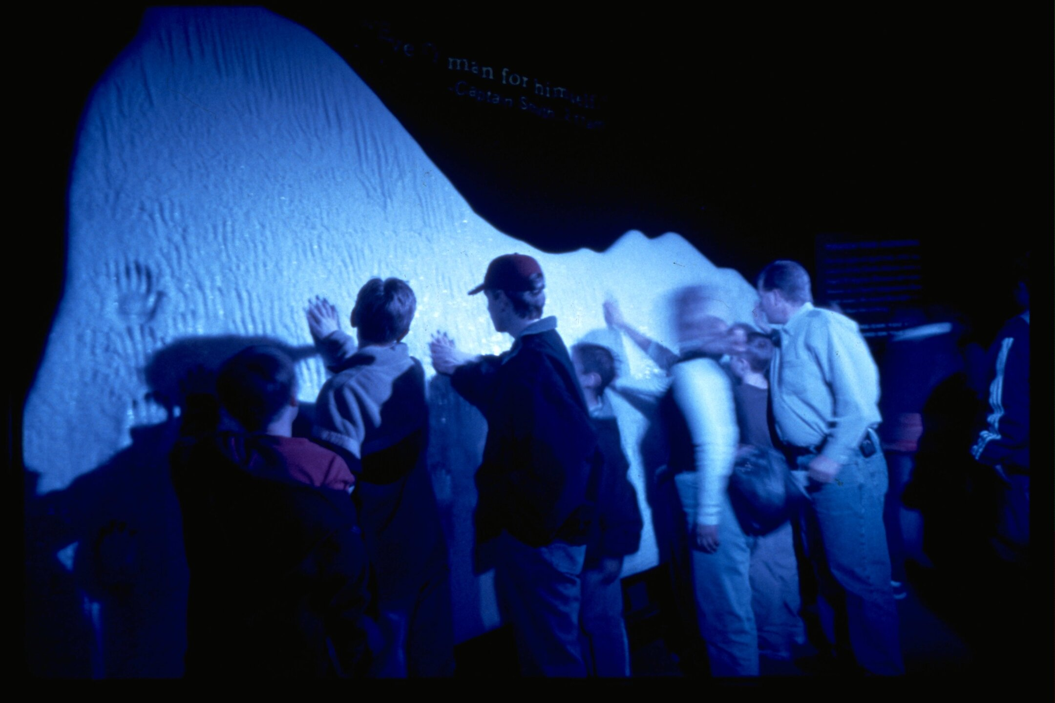 Ice Wall_Titanic the Artifact Exhibition at Luxor Hotel & Casino.jpg