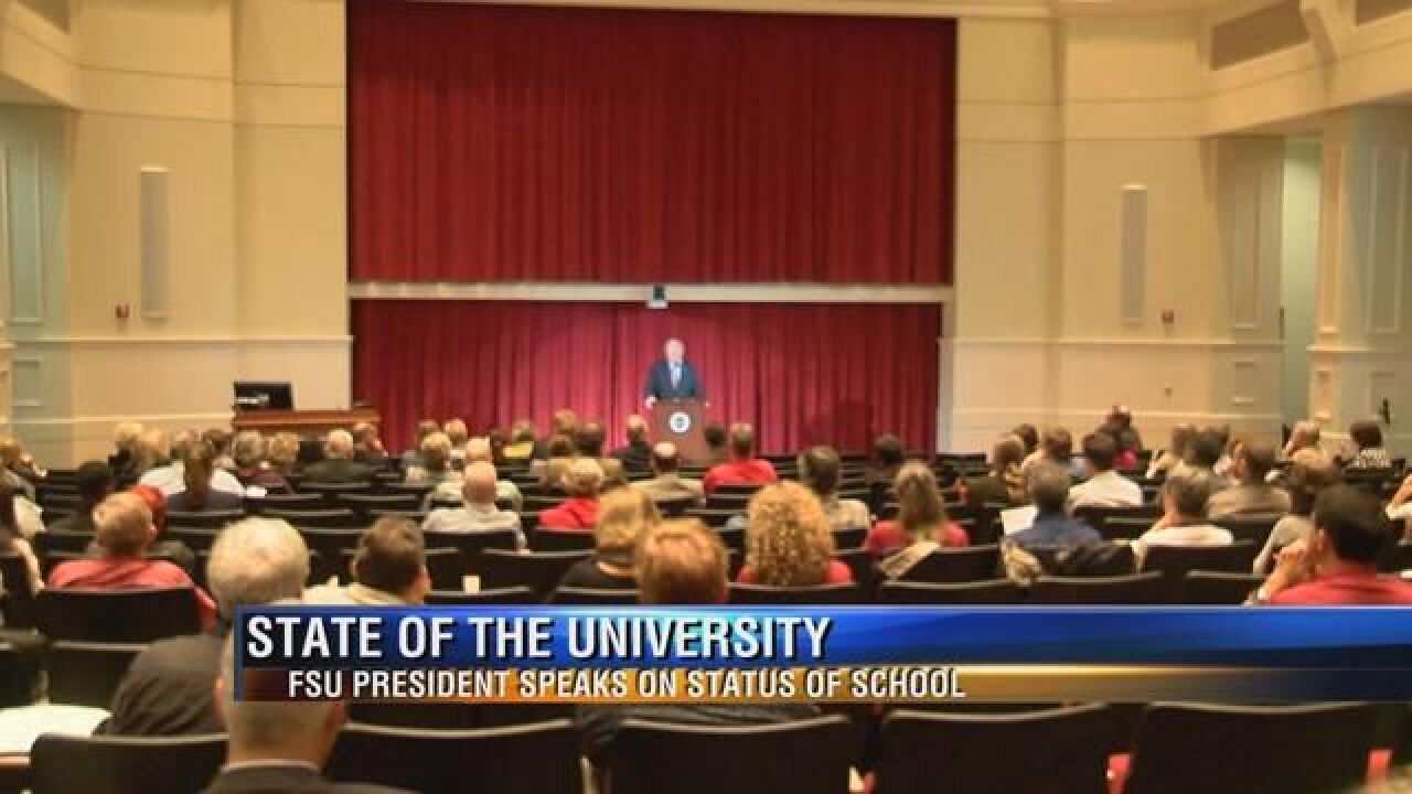 Thrasher's First State of the University Address
