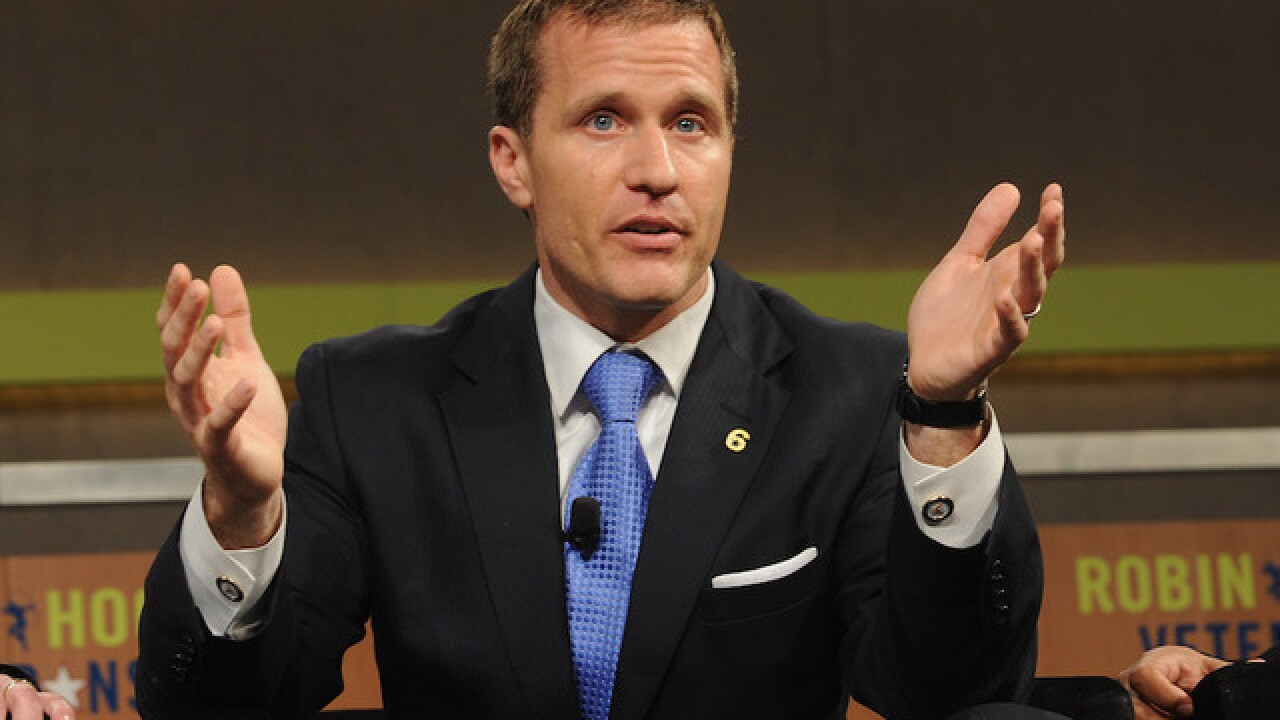 Charge dropped against Missouri Gov. Eric Greitens