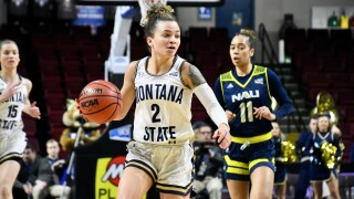 Montana State Bobcats vs. Northern Arizona Lumberjacks - Big Sky Conference women's basketball semifinal