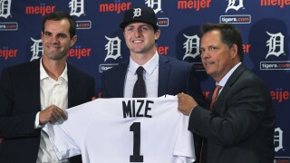 Young pitchers form the core of Detroit's rebuild