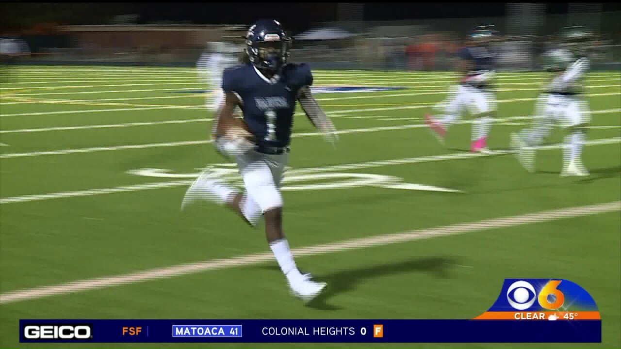 Page turns in a huge night for Varina againstHenrico