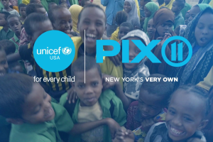 UNICEF USA partners with PIX11