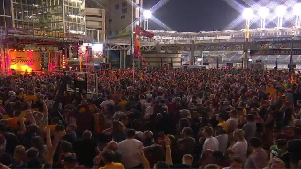 e24bafbeeb3a VIDEOS: Cavs fans' emotional reactions to winning NBA Championship