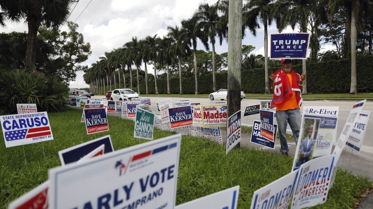 What happens to all of those campaign signs after the election?