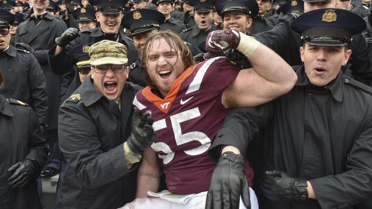 Virginia Tech extends nation's longest bowl streak to 26, will face Cincinnati in Military Bowl