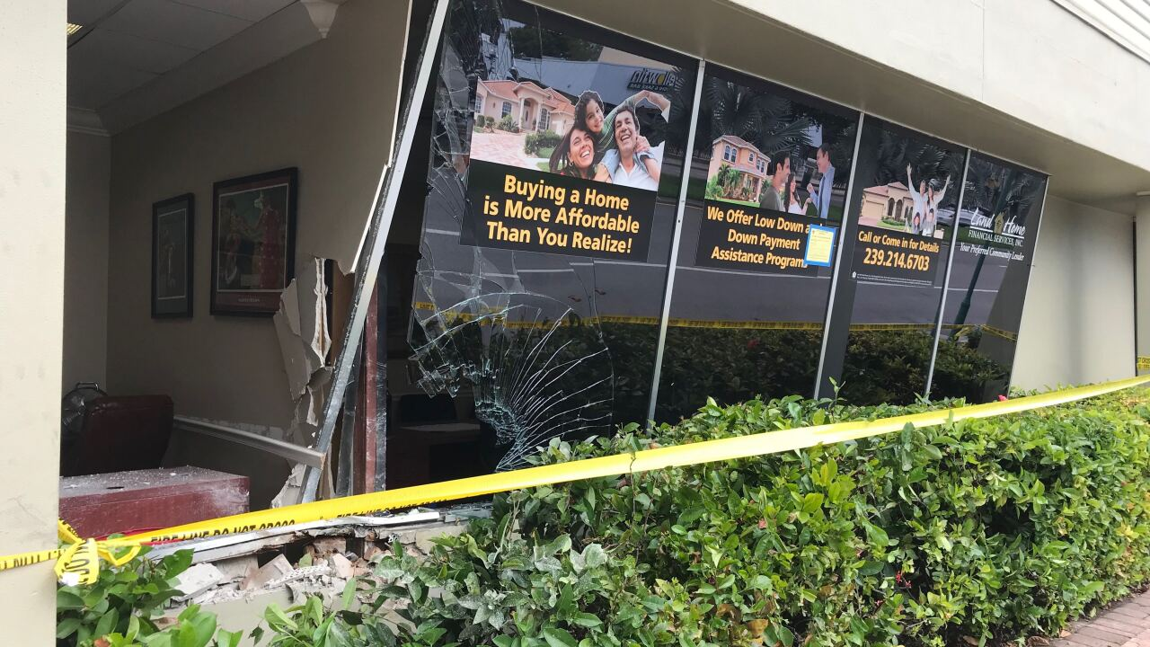 Cape Coral Parkway vehicle into building 1.jpg