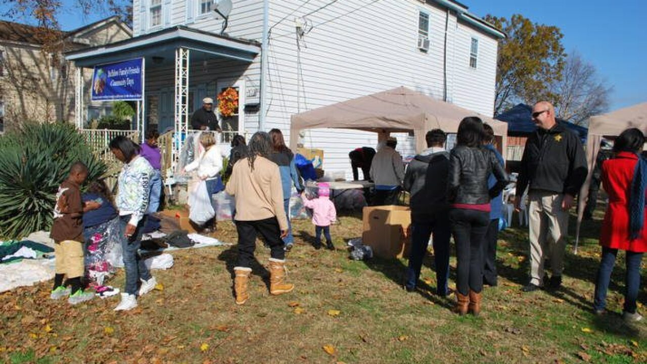 Fourth Annual Thanksgiving Community Dinner in Chesapeake
