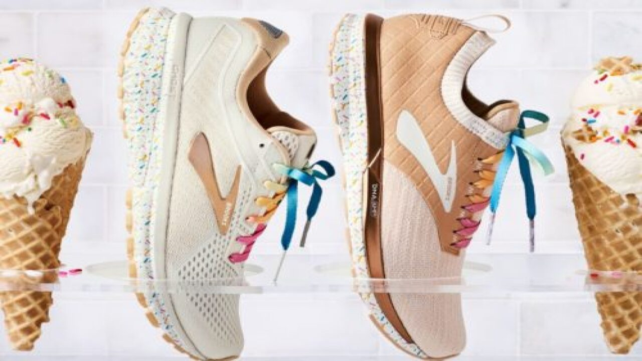 Brooks Running Is Launching An Ice-cream Inspired Shoe Line