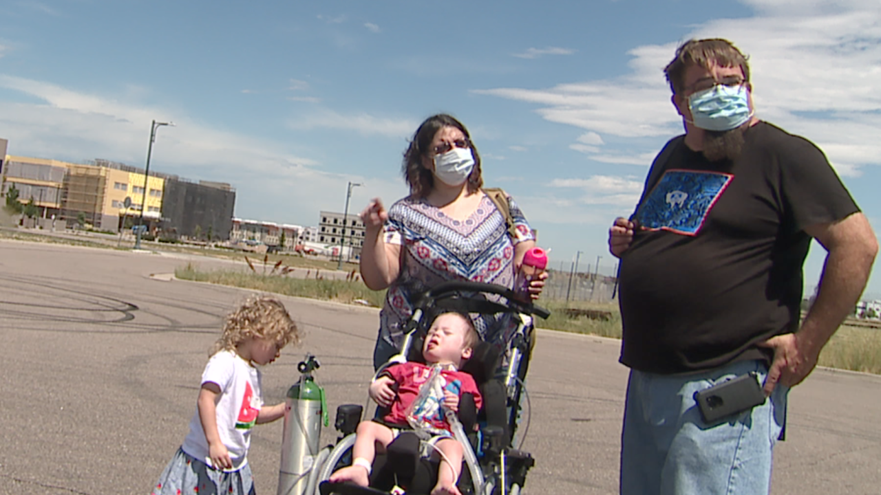 Wyoming family stranded in Denver