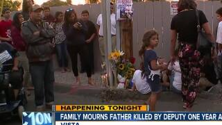 Family mourns father killed by deputy one year ago