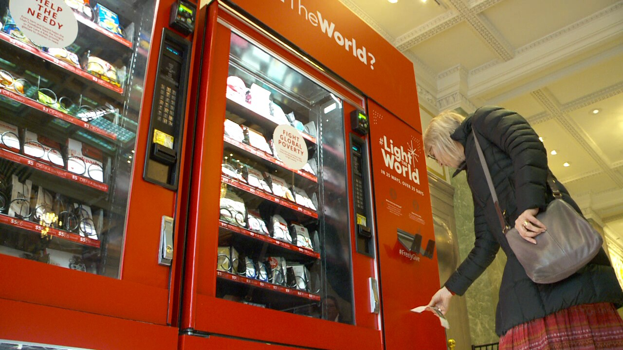 These Utah vending machines sell goats and chickens