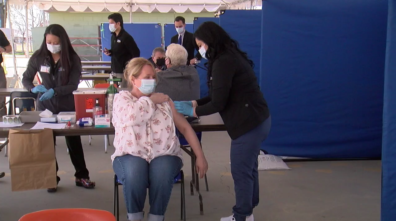 Kern County Fairground Vaccination Site