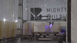 Mighty Buildings 3D Printer