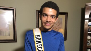 Maryland student with autism expresses appreciation for winning homecoming king