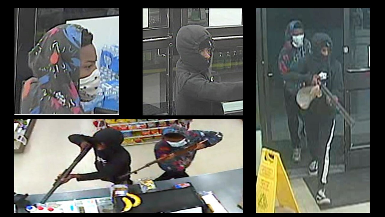 Police arrest two juveniles after suspects armed with shotgun, rifle rob two Norfolk 7-Elevens