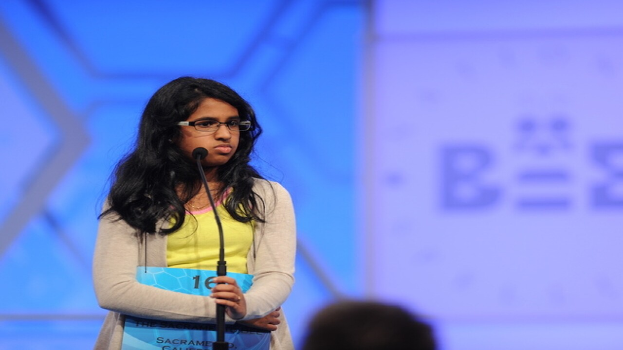 Returning speller hopes not to run out of time