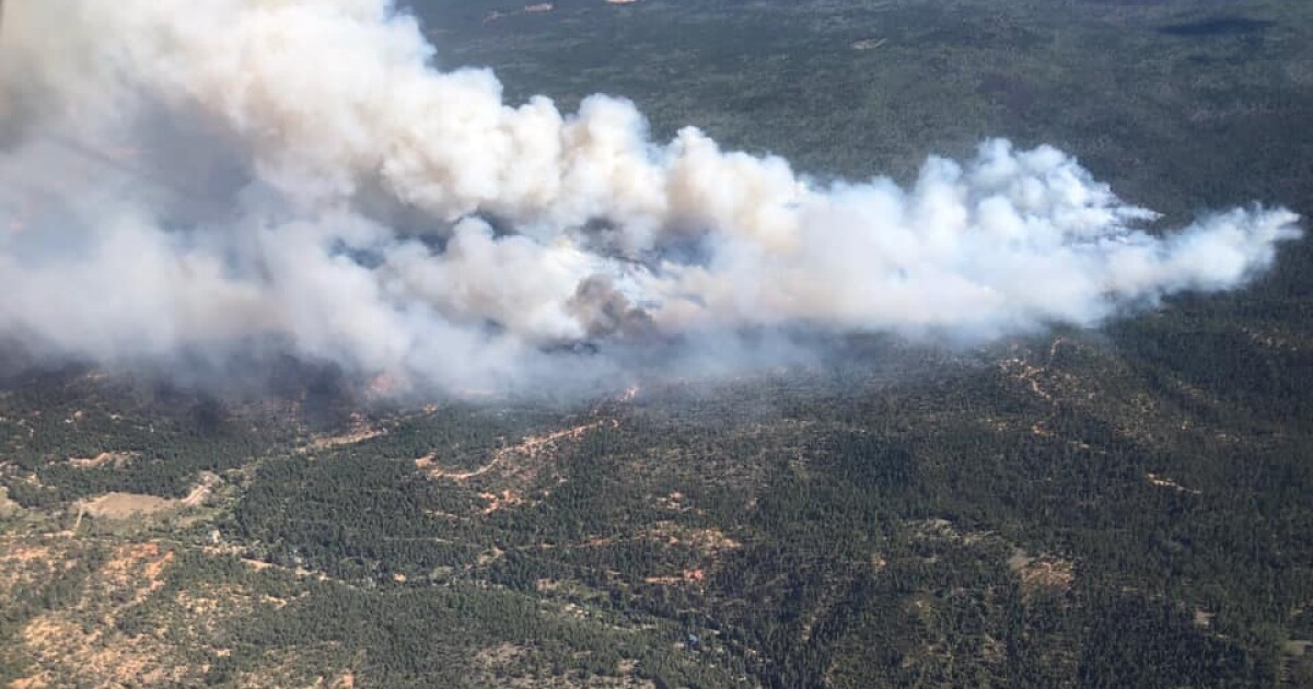 """""""Mammoth Fire"""" zero percent contained, grows to 556 acres overnight"""