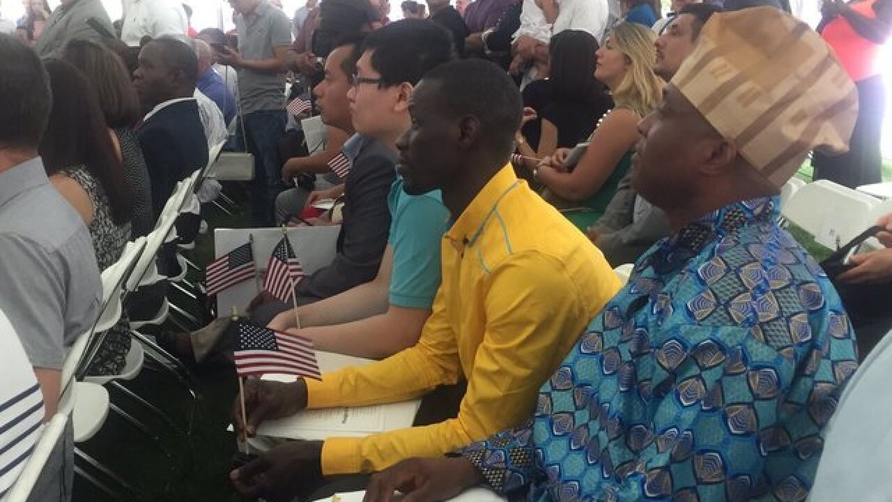 Becoming a U.S. citizen this Fourth of July