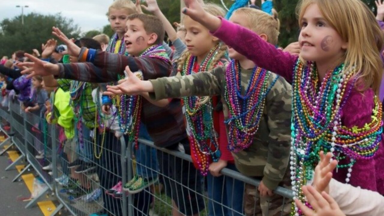 Gasparilla Children's Parade happening Jan. 20th