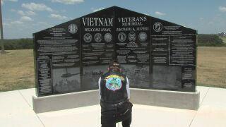 Vietnam Veterans Memorial installed at Central Texas State Veterans Cemetery