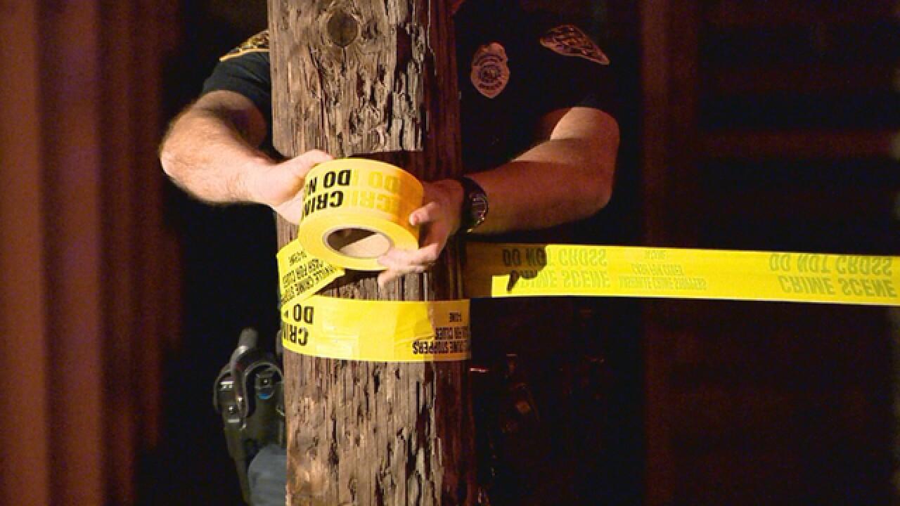 PHOTOS: Herman Street Shooting Investigation