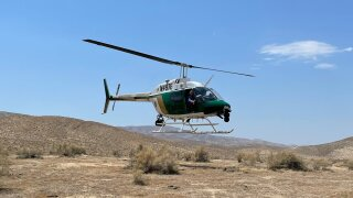 KCSO Helicopter rescue