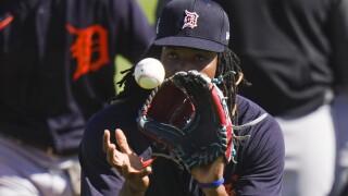 Jose Urena Tigers Spring Baseball