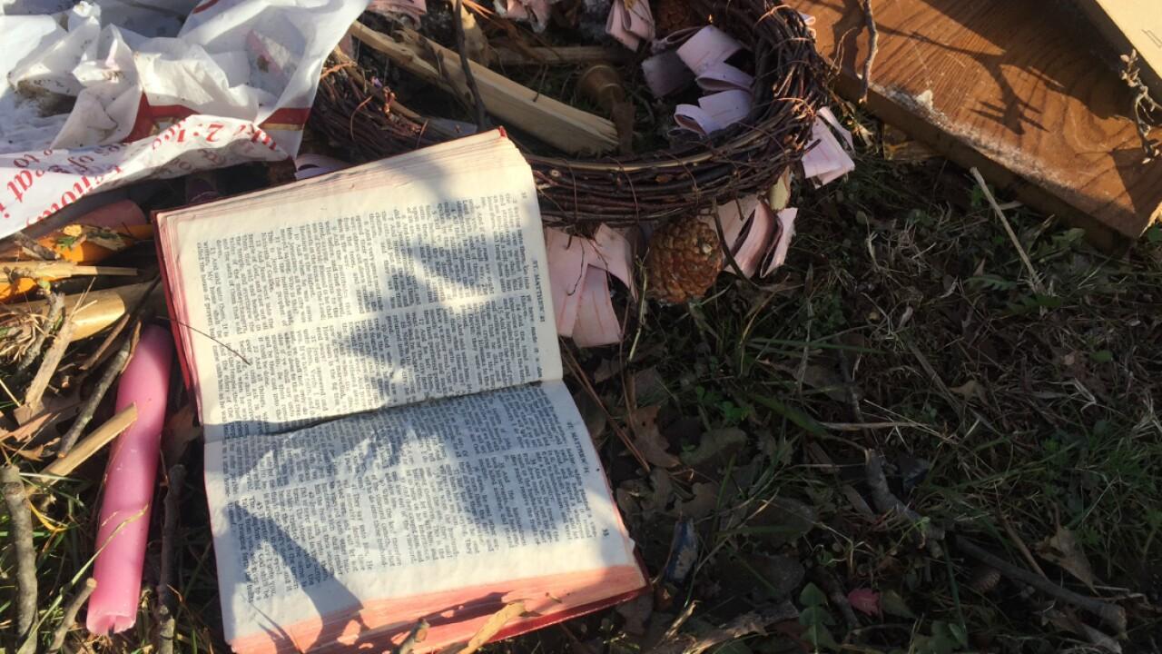 Bibles survive tornado that destroyed 145-year-old Tappahannockchurch