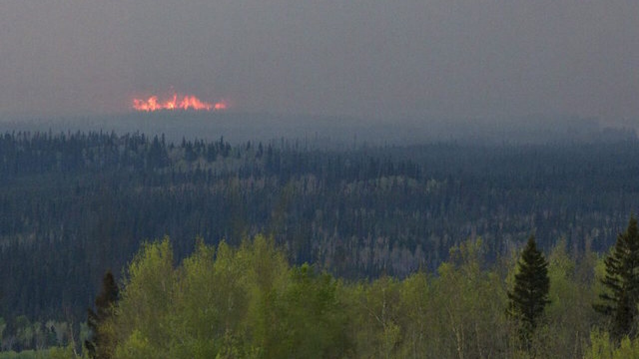 Alberta premier to tour fire-ravaged area