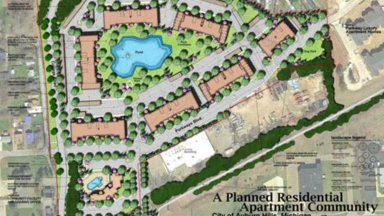 $20M luxury housing complex to Auburn Hills