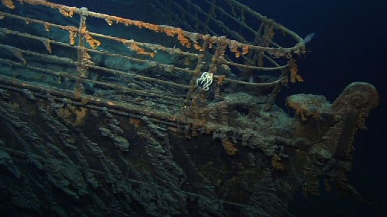 Inside the secret US military mission that located the Titanic