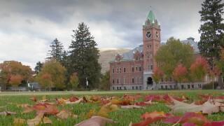 University of Montana Campus Fall