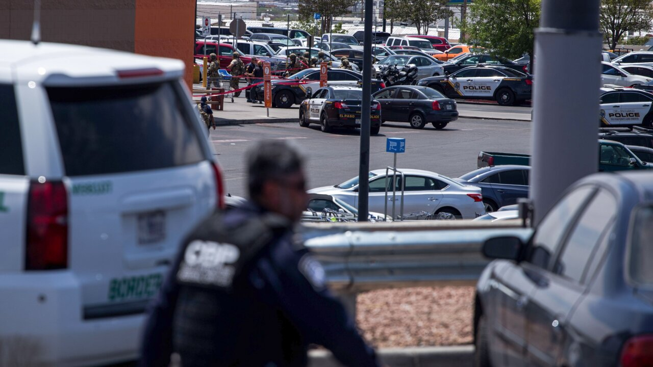 Timeline of events in El Paso mass shooting