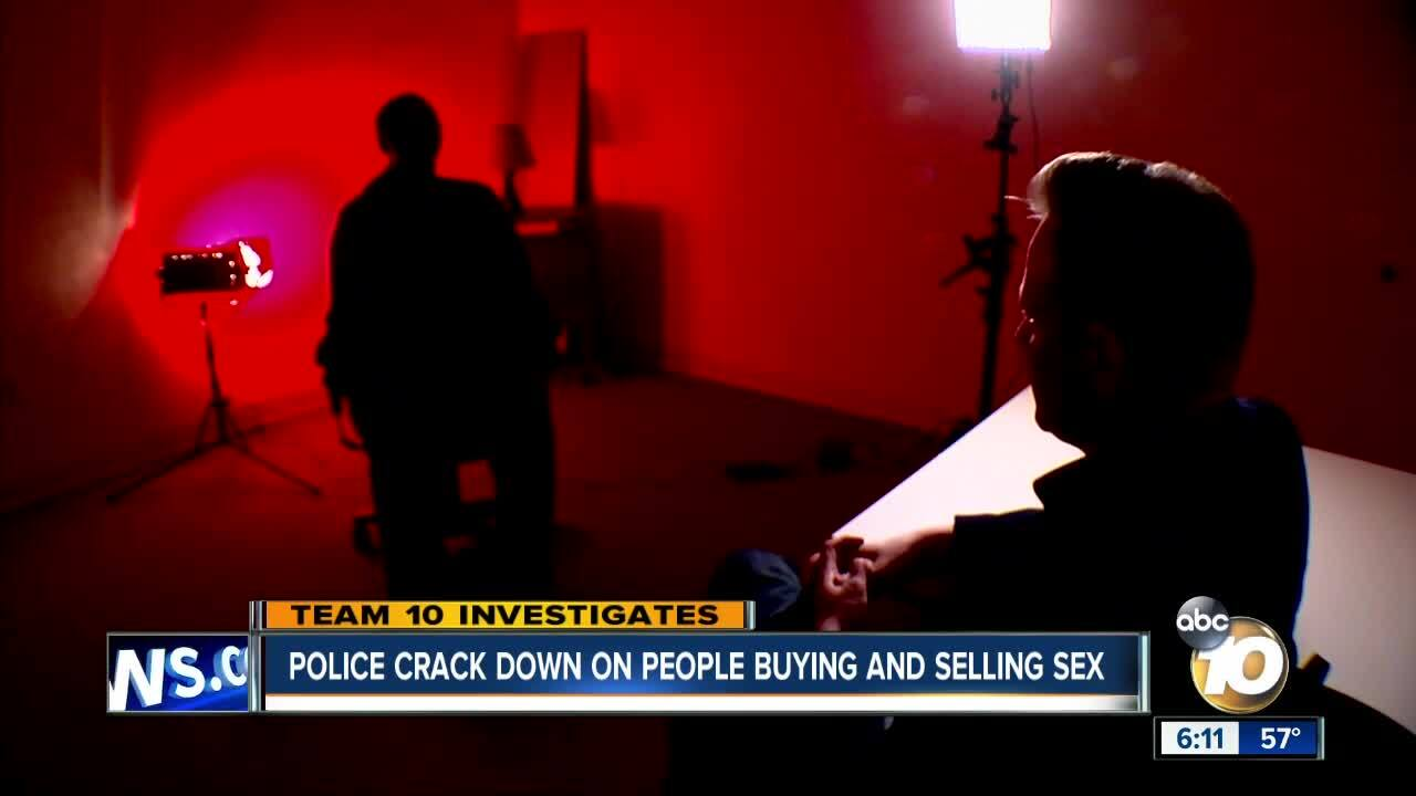 Police see an increase in street prostitution after classified ad