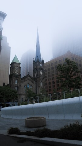 Cleveland shrouded in fog the morning after Cavs lose to Warriors in Game 2 of NBA Finals